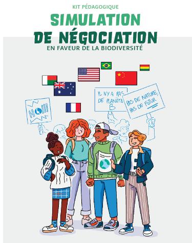 Un kit pour simuler des négociations internationales sur la biodiversité en collèges et lycées